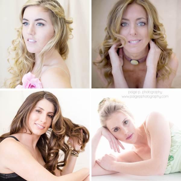 4 beautiful women