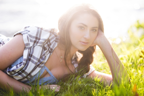 Sunlit girl, Senior pictures, New Jersey