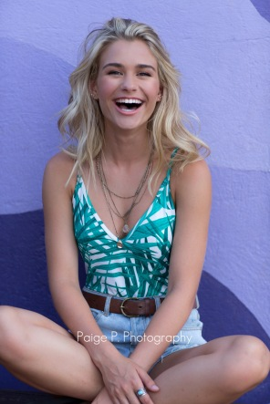 Beautiful, laughing high school girl